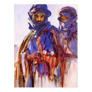 John Singer Sargents Beduinen Postkarte