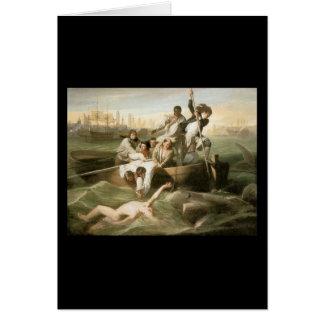 John Singleton Copley Watson und der Haifisch Karte