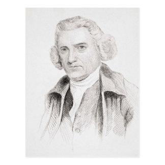 John Smeaton, von 'alten Englands Worthies Postkarte