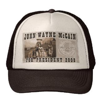 John Wayne McCain '08 Trucker Mützen
