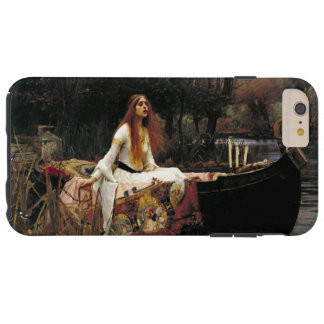 John William Waterhouse-Dame Of Shalott Vintage Tough iPhone 6 Plus Hülle