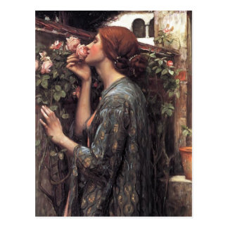 John William Waterhouse das Soul der Rose Postkarte