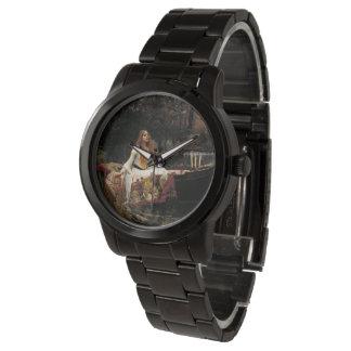 John William Waterhouse die Dame Of Shalott Armbanduhr