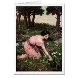 John William Waterhouse - Frühling verbreitet… Karte