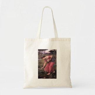 John William Waterhouse - Narzisse - schöne Kunst Tragetasche