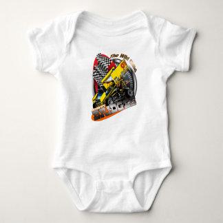 Johnny-Brücken-Laufen Baby Strampler