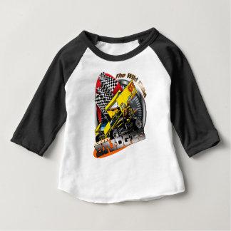 Johnny-Brücken-Laufen Baby T-shirt