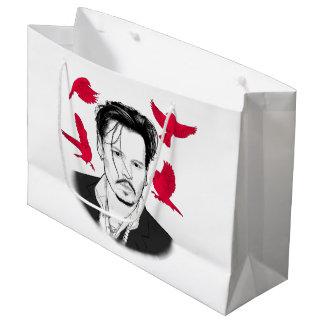 Johnny Depp Große Geschenktüte