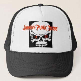 Johnny-Punk-Typ Truckerkappe