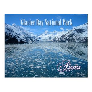 Johns- Hopkinsgletscher, Glacier Bay, Alaska Postkarte