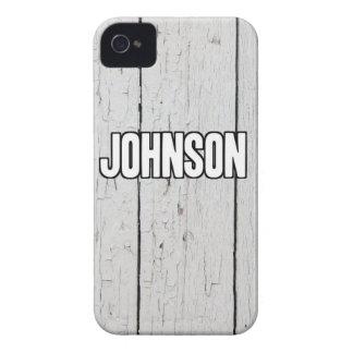 Johnson Case-Mate iPhone 4 Hülle