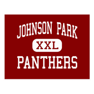 Johnson-Park - Panther - Mitte - Columbus Ohio Postkarte