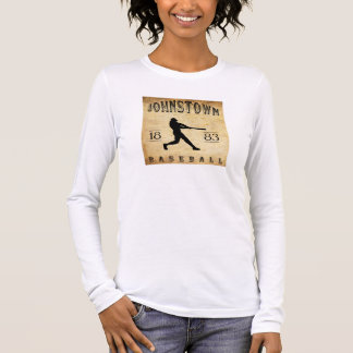 Johnstown Pennsylvania Baseball 1883 Langarm T-Shirt
