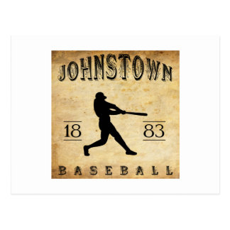 Johnstown Pennsylvania Baseball 1883 Postkarte