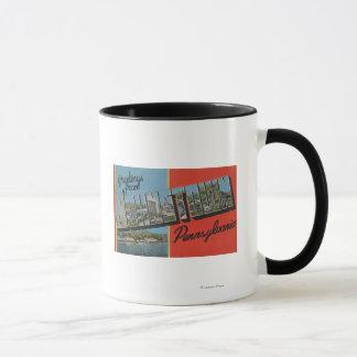 Johnstown, Pennsylvania - große Buchstabe-Szenen Tasse