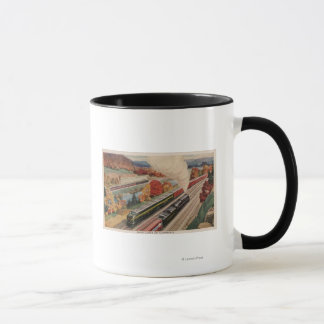Johnstown, Pennsylvania (Handels-Züge) Tasse