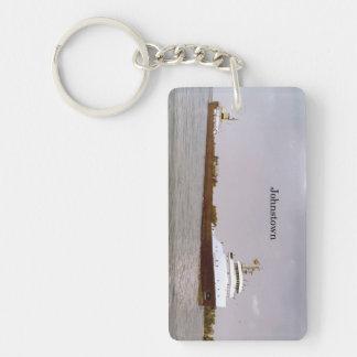 Johnstown Rechteck-Schlüsselkette Schlüsselanhänger
