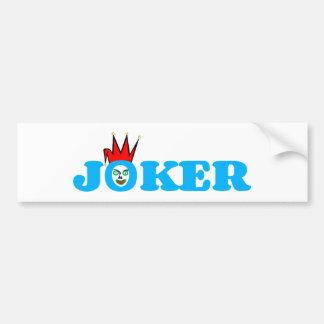 Joker Autoaufkleber