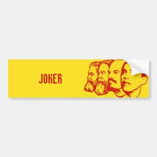 JOKER-Autoaufkleber
