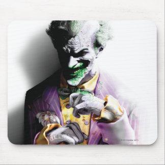 Joker Batman Arkham Stadt-| Mousepad