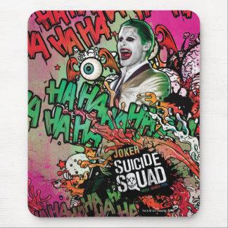 Joker-CharakterGraffiti der Selbstmord-Gruppe-  Mousepad