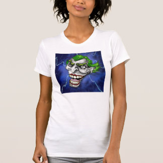 Joker-Spaßvogel in einem Blitz-Sturm durch Doug T-Shirt