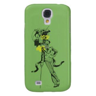Joker-und Batman-Comic-Collage Galaxy S4 Hülle