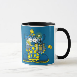 Jokey Clown-Kaffee-Tasse Tasse