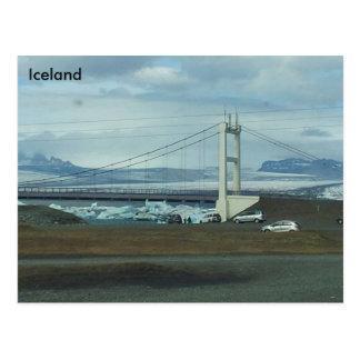 Jökulsárlón Glazial- Lagune, Südostisland (a) Postkarte