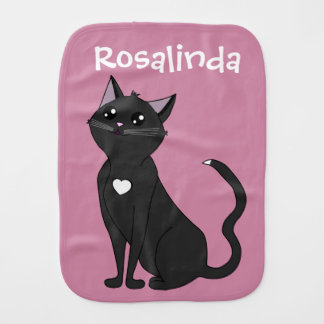 Jolia die Katze, bewundern mich! Baby Spucktuch