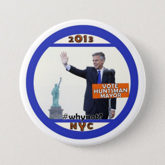 Jon Jäger für NYC Bürgermeister im Jahre 2013 Runder Button 7,6 Cm