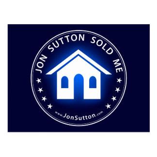 Jon Sutton verkaufte mich Postkarte