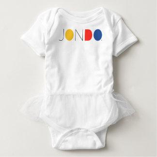 JONDO gekräuselter Baby-Körper-Anzug Baby Strampler