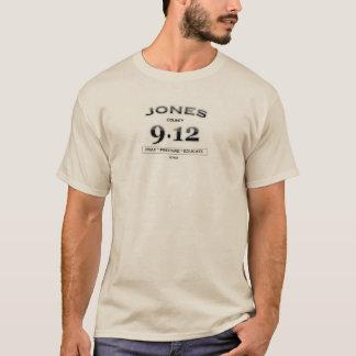 Jones County 9,12 langer Hülsen-T - Shirt