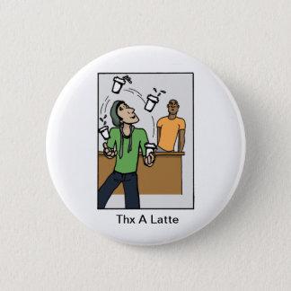 Jonglierende Kaffee Runder Button 5,1 Cm