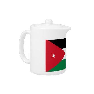 Jordanien-Flagge