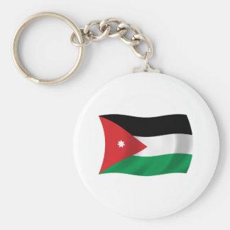 Jordanien-Flagge Keychain Schlüsselanhänger