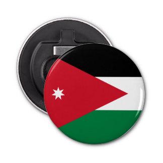 Jordanien-Flagge Runder Flaschenöffner