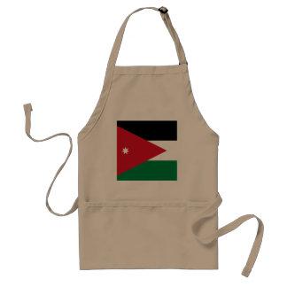 Jordanien-Flagge Schürze