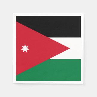 Jordanien-Flagge Serviette