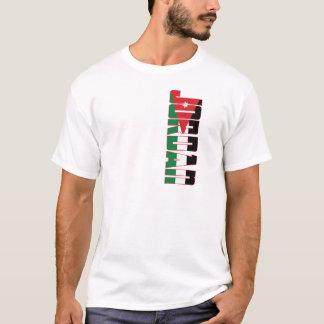 Jordanien-Flagge T-Shirt