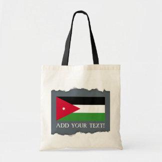 Jordanien-Flagge Tragetasche