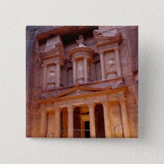 Jordanien, Mittlere Osten Quadratischer Button 5,1 Cm