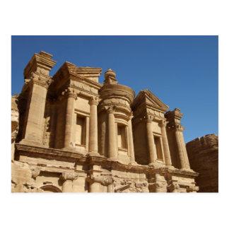 Jordanien, PETRA, das Kloster, Al Deir. 2 Postkarte