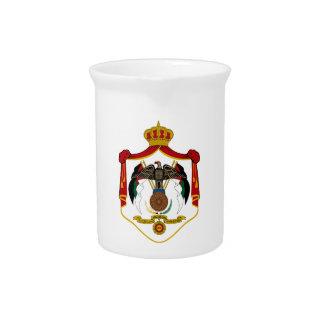 Jordanien-Wappen Getränke Pitcher