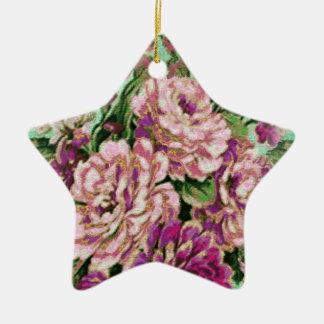 Joremount schicker Blumenstern Keramik Stern-Ornament