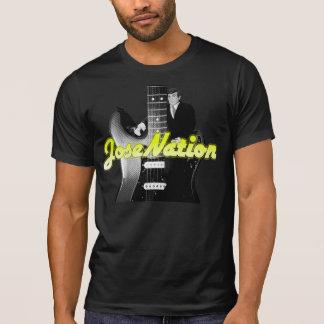 Jose-Nations-klassisches Felsen-T-Stück T-Shirt