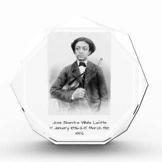 José Silvestre Weiß Lafitte Acryl Auszeichnung