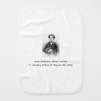 José Silvestre Weiß Lafitte Baby Spucktuch