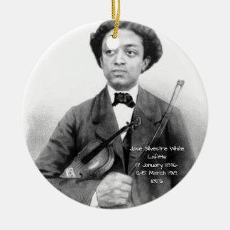 José Silvestre Weiß Lafitte Keramik Ornament